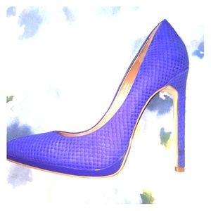Royal Blue Aldo Pumps